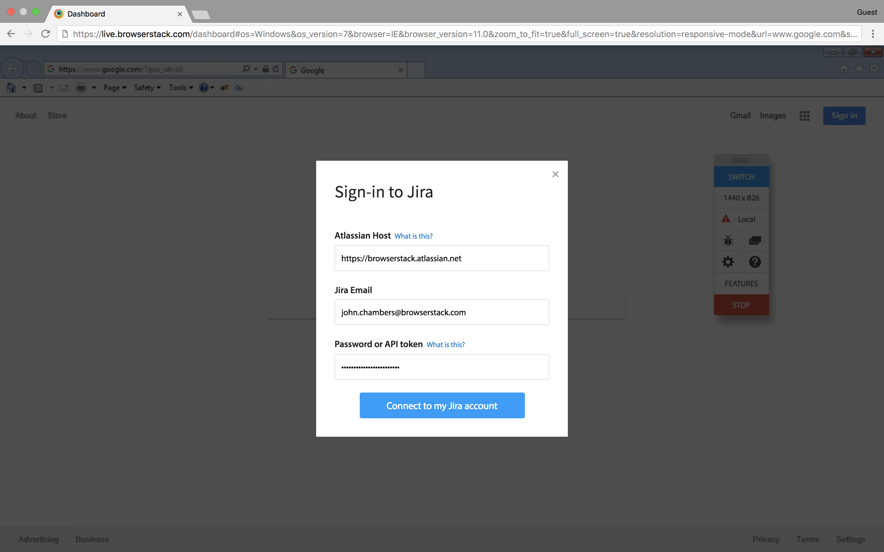 Jira Integration Step 3